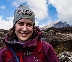 leende person kilimanjaro