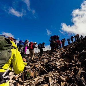 Grupp expeditionsresor till Kilimanjaro