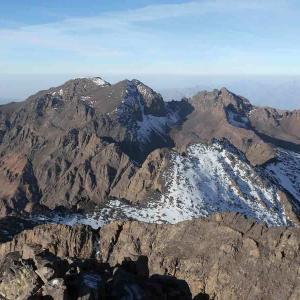 Vackra berg i Marockanska Atlasbergen