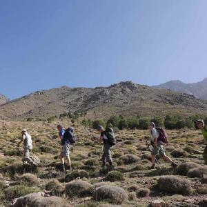 Vandra med Swett i Atlasbergen