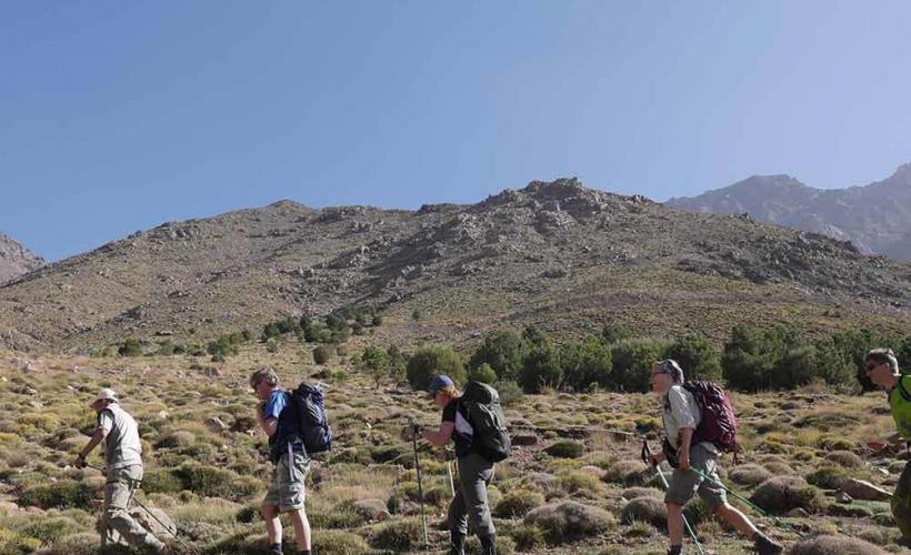 Vandring bland Atlasbergen