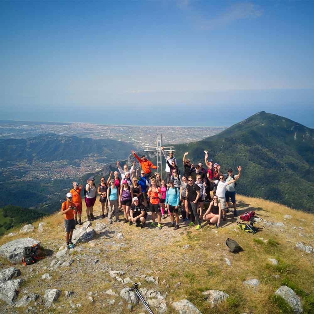 Vandra i de Apuanska alperna vid Cinque Terre med Swett