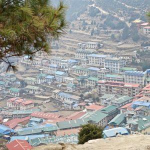 Scenisk skönhet från Everest Basecamp