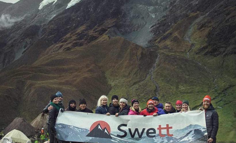 Med Swett får du den bästa upplevelsen på Inkaleden