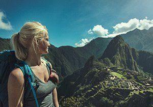 Det mytomspunna Machu Piccu där vi spenderar en heldag när vi går Inkaleden
