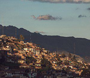 Vi startar vår resa i Inkaleden i Cusco