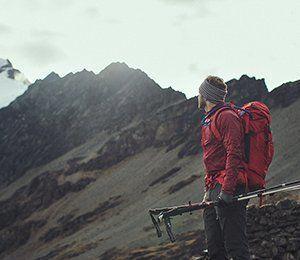 Magiskt vackra berg längst Inkaleden
