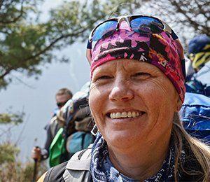leende kvinna EBC