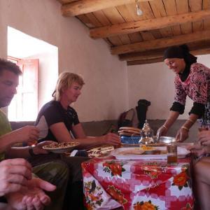 Marocko är känt för den mat som vi får njuta av i Atlasbergen
