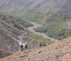 Med Swett i Atlasbergen vandrar vi ostörda rutter med magisk natur