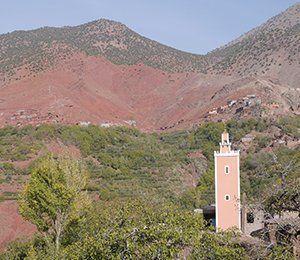 Marockansk arkitektur i Atlasbergen