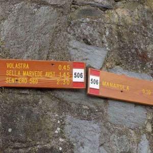 Finns många rutter att gå i Cinque Terre