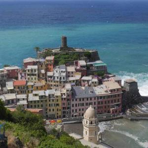 Vackra Cinque Terre i Italien