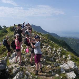 Fotografering efter vandring i Cinque Terre
