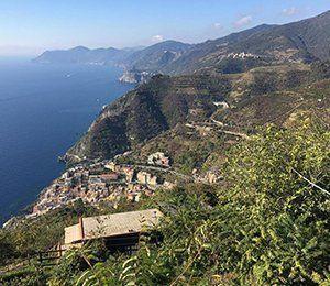 En oslagbar utsikt under vandringen i Cinque Terre