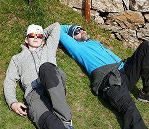 Efter vår långa vandring till Everest Base Camp är det skönt att få vila