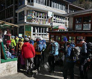 Efter Everest Base Camp har vi en reservdag i Kathmandu