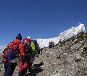 Att vandra mot världens högsta berg och Everest Base Camp är en fantastisk upplevelse
