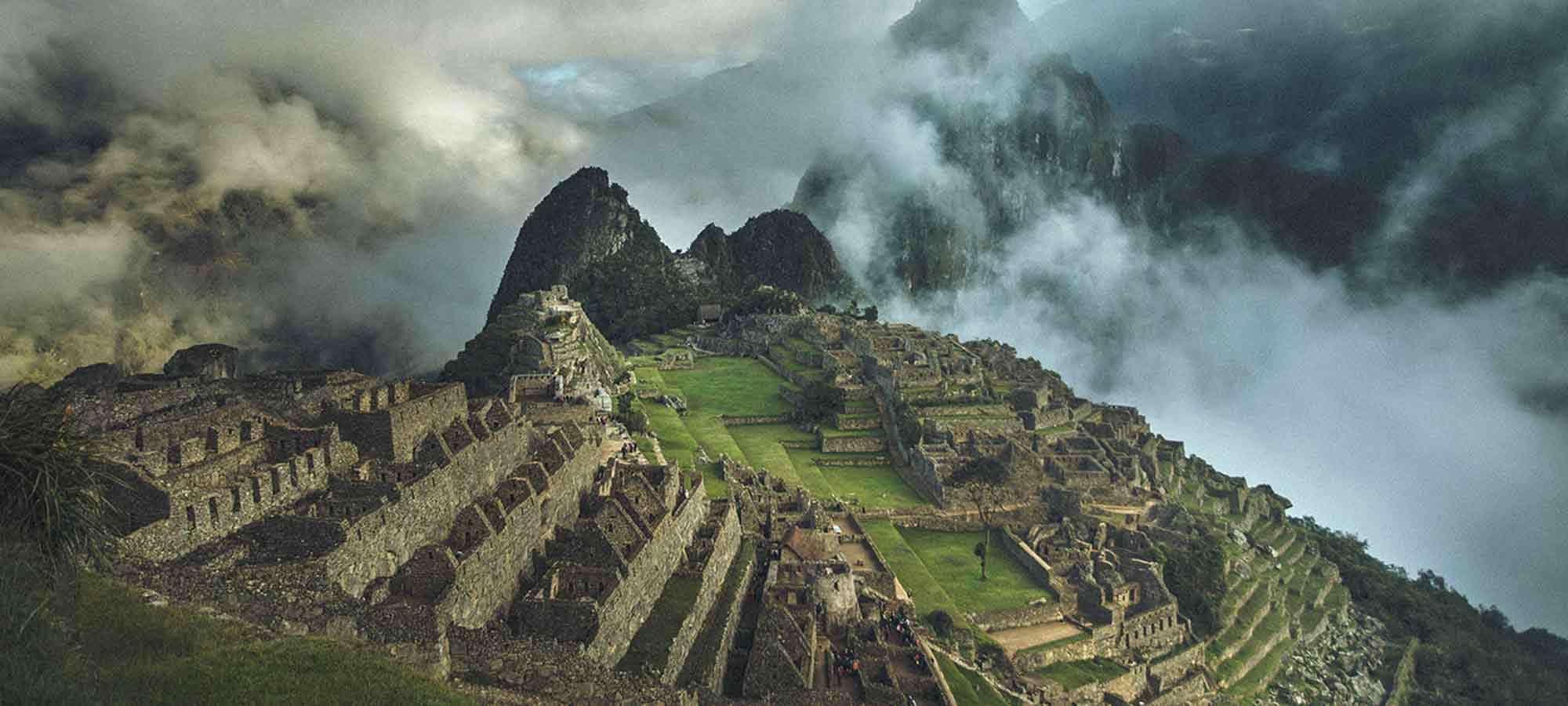 Storslagna Machu Piccu är slutmålet på Swetts resa till Inkaleden
