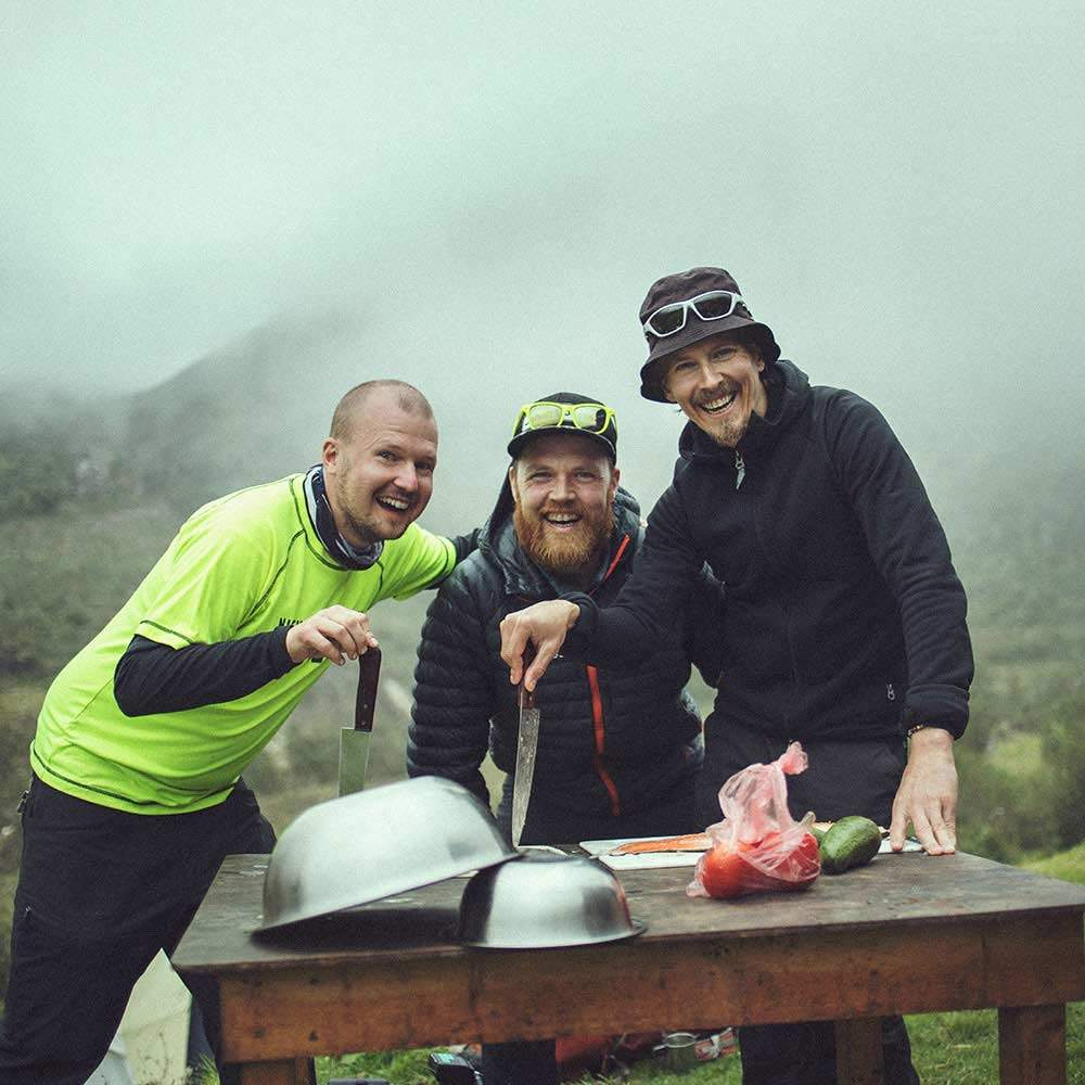 Team Swett på Inkaleden