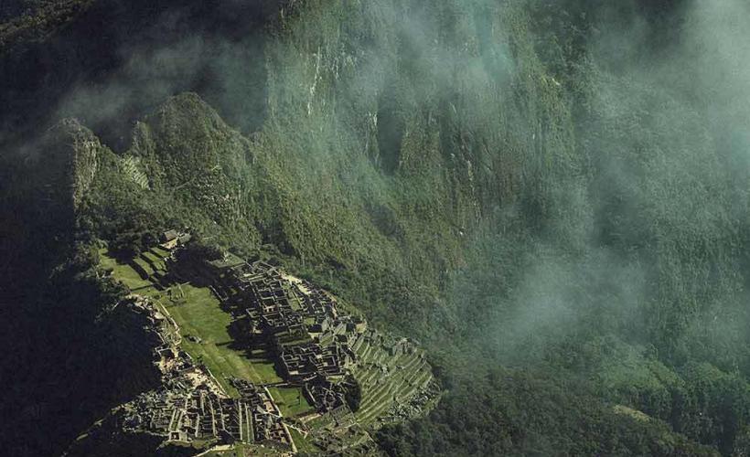 Inkaledens slutmål Machu Piccu