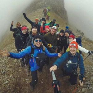 Det är lätt att hitta nya vänner som vi vandrar med på Inkaleden