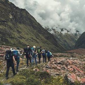 Vandring i vackra miljöer längst Inkaleden med Swett