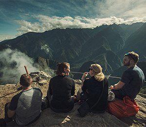 När vi nått Inkaledens huvudmål Machu Piccu får vi berättat myter och historier om den bortglömda staden