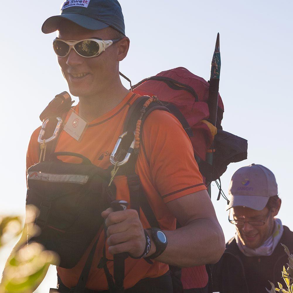 Våra guider hjälper dig att säkert bestiga Kebnekaise