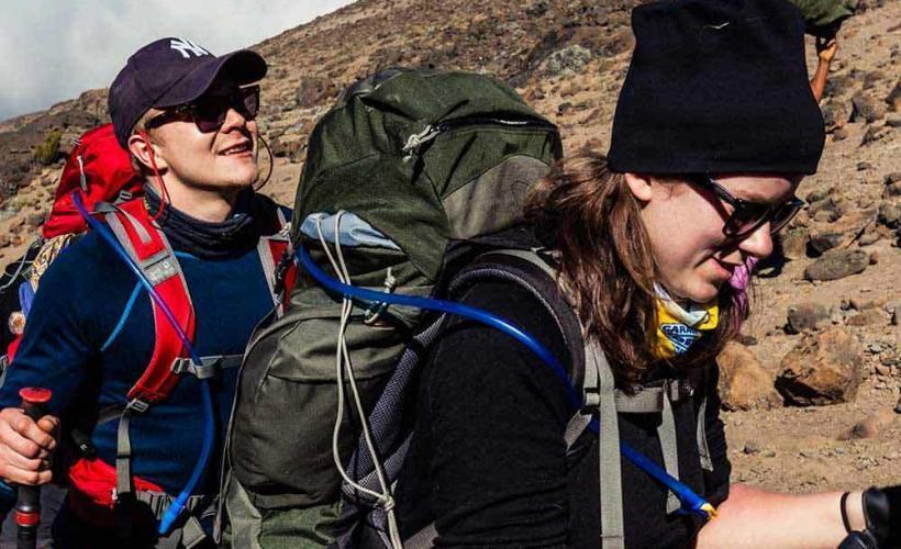 Vandring mot Kilimanjaro