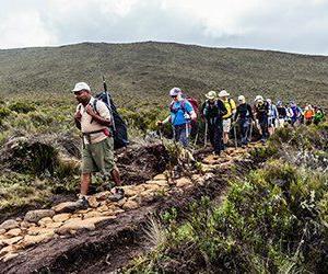 Med Swett vandrar du en unik och ostörd led till Kilimanjaro