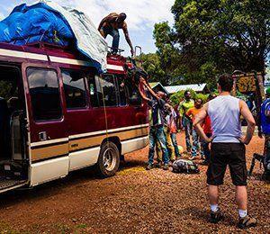 Nu börjar äventyret mot världens högsta ensamstående berg Kilimanjaro