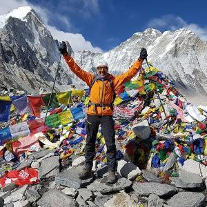 toppen av everest base camp