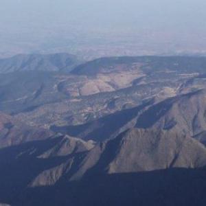 Ståtliga Atlasbergen i Marocko