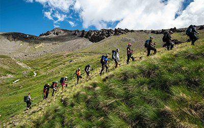 Vandrar mot Elbrus
