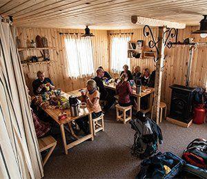Härligt med en kopp kaffe efter att ha tagit sig an Elbrus