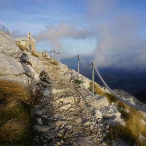Vandra på hög höjd i Kroatien