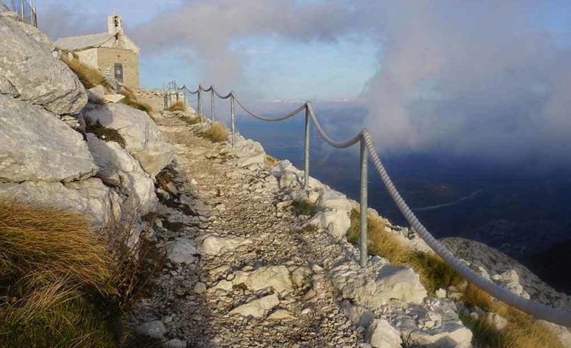 Hög höjd i Kroatien