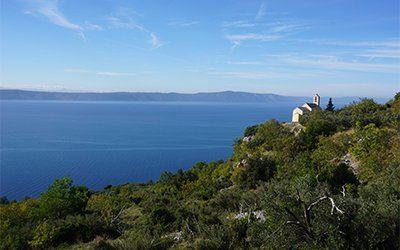 Vi vandrar bortom den etablerade rutten i Kroatien