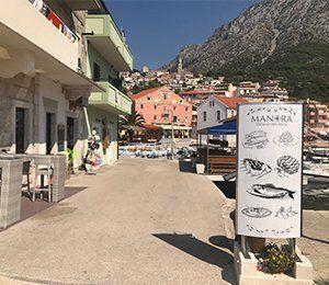 Du får en gastronomisk matupplevelse med Swett i Kroatien