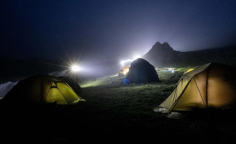 Tältning Elbrus